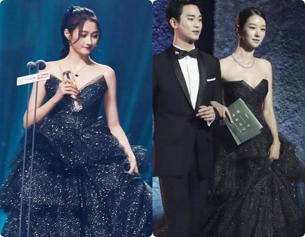 Đụng hàng bộ đầm hơn 130 triệu với ngọc nữ Cbiz, Seo Ye Ji không ngại xén luôn một chi tiết để phô diễn vòng 1 khủng - Ảnh 9.