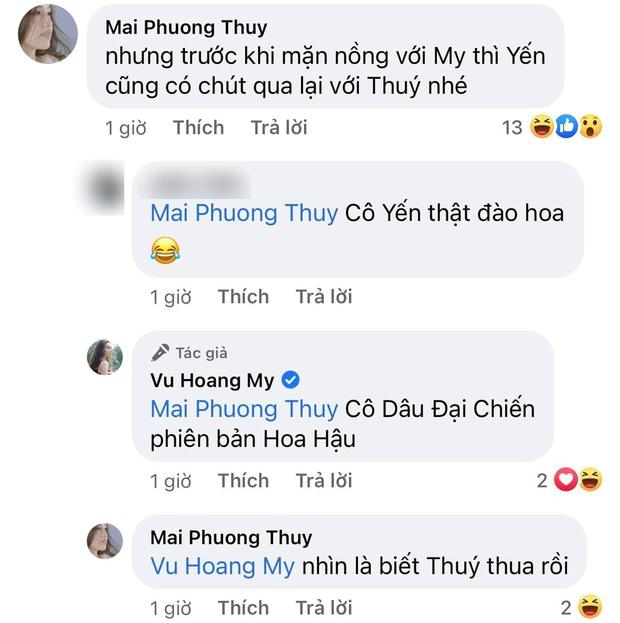 Á hậu Hoàng My phản ứng như thế nào khi bất ngờ bị nhắc tới tình cũ Phillip Nguyễn? - Ảnh 4.