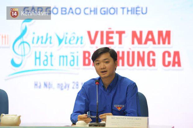 """Phát động cuộc thi """"Sinh viên Việt Nam – Hát mãi bản hùng ca"""" - Ảnh 1."""