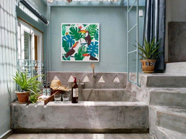 Cô nàng phù phép căn hộ cổ thành không gian đậm chất Địa Trung Hải, góc nào cũng xinh như là homestay - Ảnh 10.