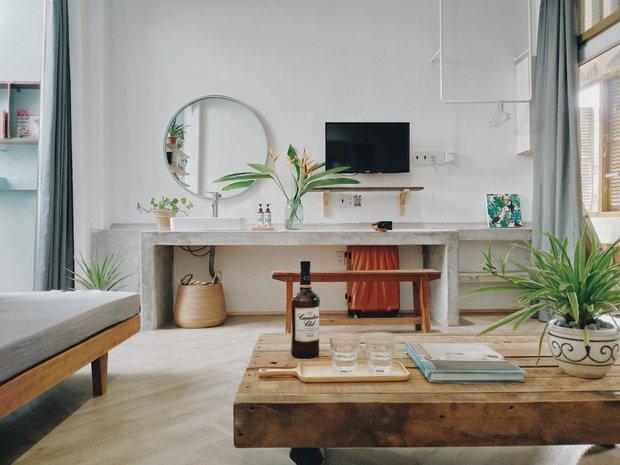 Cô nàng phù phép căn hộ cổ thành không gian đậm chất Địa Trung Hải, góc nào cũng xinh như là homestay - Ảnh 4.