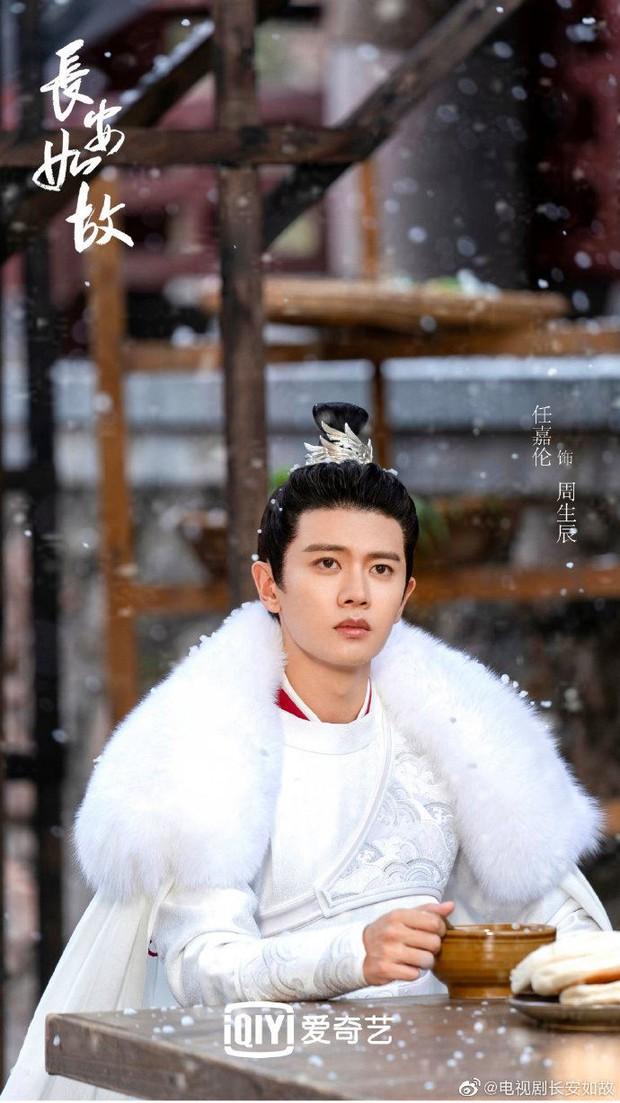Nhậm Gia Luân ngồi dưới mưa tuyết mà vẫn soái khí ở Trường An Như Cố, netizen gật gù: Đúng là sinh ra để đóng cổ trang! - Ảnh 3.