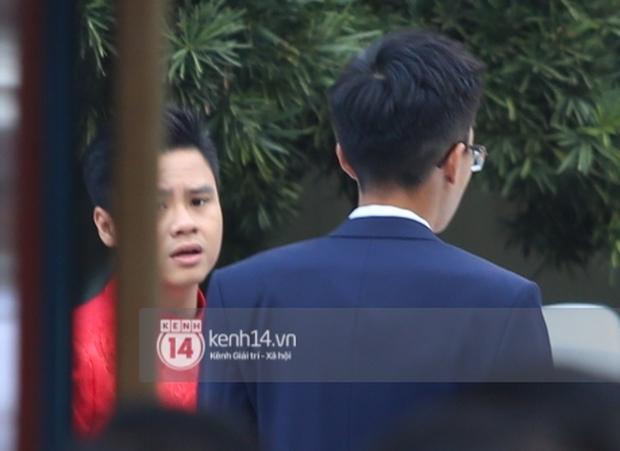Loạt ảnh Phan Thành diện áo dài đỏ chót, outfit rước dâu bảnh quá trời - Ảnh 7.