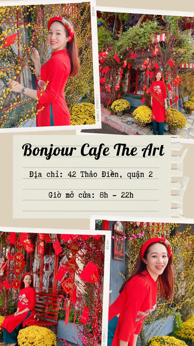 Sống ảo cháy máy ở 10 quán cà phê trang trí Tết đẹp nhất Sài Gòn, ai chưa có hình đón xuân Tân Sửu thì bơi hết vào đây! - Ảnh 7.