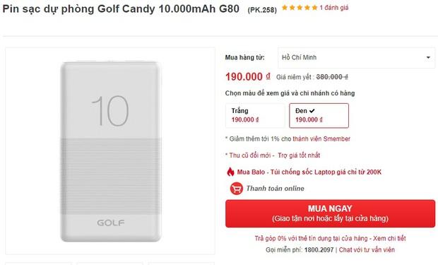 Pin sạc dự phòng đang sale giá tốt: Từ 119k sắm được 1 chiếc yên tâm đi chơi Tết - Ảnh 5.