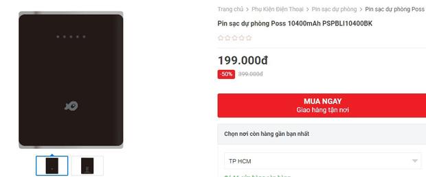 Pin sạc dự phòng đang sale giá tốt: Từ 119k sắm được 1 chiếc yên tâm đi chơi Tết - Ảnh 7.