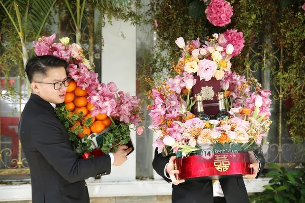 Cận cảnh sính lễ xa xỉ trong đám cưới Phan Thành - Primmy Trương: nhìn chỉ muốn loá mắt vì ghen tị - Ảnh 2.