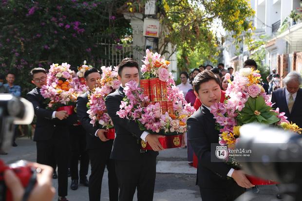 Cận cảnh sính lễ xa xỉ trong đám cưới Phan Thành - Primmy Trương: nhìn chỉ muốn loá mắt vì ghen tị - Ảnh 1.