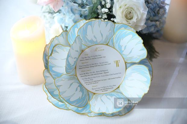 Lộ diện thực đơn tiệc cưới Phan Thành - Primmy Trương: ấn tượng chưa từng thấy, gây choáng với loạt sơn hào hải vị đắt tiền - Ảnh 1.
