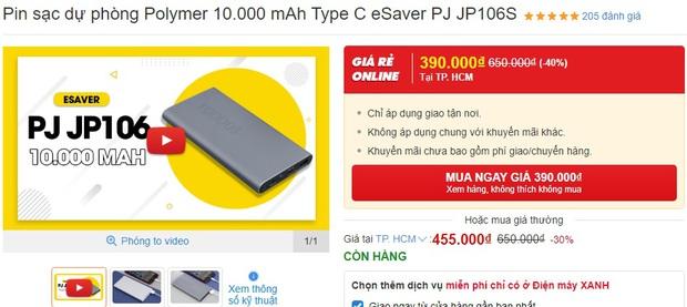 Pin sạc dự phòng đang sale giá tốt: Từ 119k sắm được 1 chiếc yên tâm đi chơi Tết - Ảnh 15.