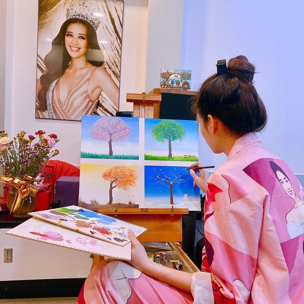 Khám phá căn hộ là giải thưởng của Khánh Vân khi trở thành Hoa hậu Hoàn vũ - Ảnh 9.