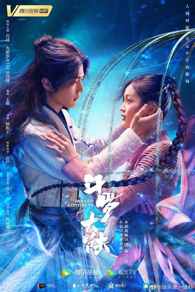 Địch Lệ Nhiệt Ba vừa tái xuất đã bị hội nam thần Tiêu Chiến - Lý Dịch Phong chặn đầu xe ở đại chiến phim Hoa ngữ tháng 2 - Ảnh 2.