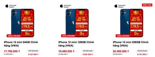 Tất cả các mẫu iPhone 12 đồng loạt giảm giá sâu dịp cuối năm - Ảnh 2.