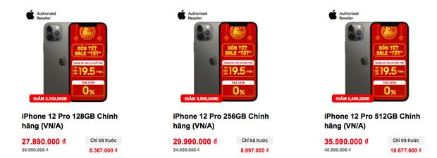 Tất cả các mẫu iPhone 12 đồng loạt giảm giá sâu dịp cuối năm - Ảnh 6.