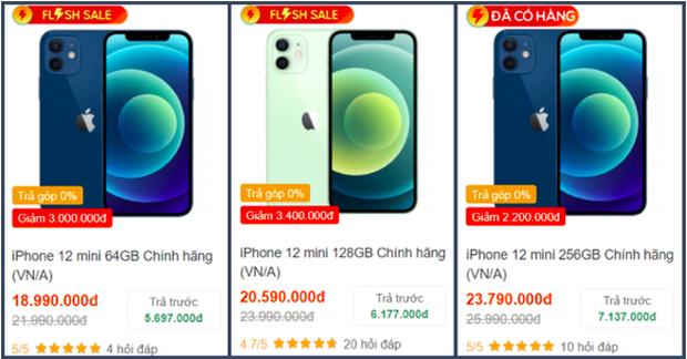 Tất cả các mẫu iPhone 12 đồng loạt giảm giá sâu dịp cuối năm - Ảnh 1.
