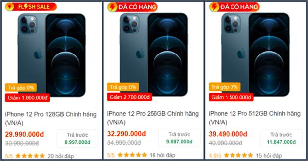 Tất cả các mẫu iPhone 12 đồng loạt giảm giá sâu dịp cuối năm - Ảnh 5.