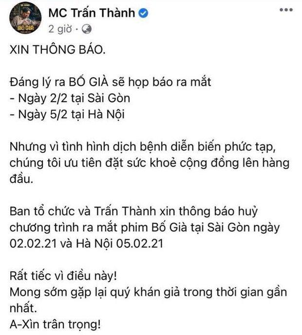 Vbiz tạm đóng băng vì dịch Covid-19: Mỹ Tâm, Trấn Thành lùi dự án khủng, Rap Việt concert và loạt show hot ngừng phút cuối - Ảnh 2.