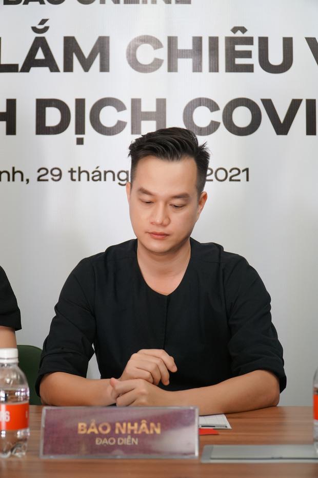 Kaity Nguyễn và ekip Gái Già Lắm Chiêu V khẳng định không dời lịch chiếu Tết ở họp báo online khẩn cấp - Ảnh 5.