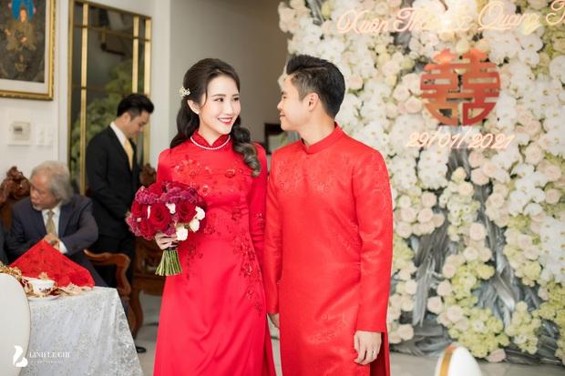 Đám cưới Phan Thành - Primmy Trương: Cô dâu chiếm spotlight với áo dài đỏ, nhẫn kim cương to đùng trên tay nhìn là nể ngay - Ảnh 39.