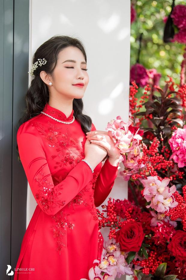 Đám cưới Phan Thành - Primmy Trương: Cô dâu chiếm spotlight với áo dài đỏ, nhẫn kim cương to đùng trên tay nhìn là nể ngay - Ảnh 41.