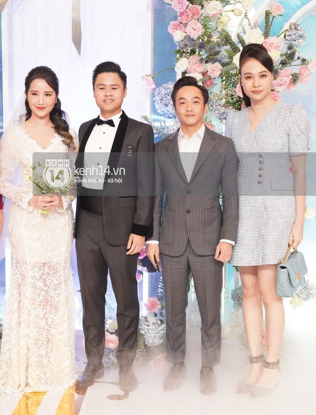 Dàn sao Việt đổ bộ hôn lễ Phan Thành: 365 hội tụ, HH Khánh Vân thành người khổng lồ, vợ chồng Cường Đô La toả ra mùi tiền - Ảnh 5.