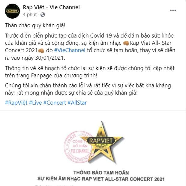 Vbiz tạm đóng băng vì dịch Covid-19: Mỹ Tâm, Trấn Thành lùi dự án khủng, Rap Việt concert và loạt show hot ngừng phút cuối - Ảnh 3.