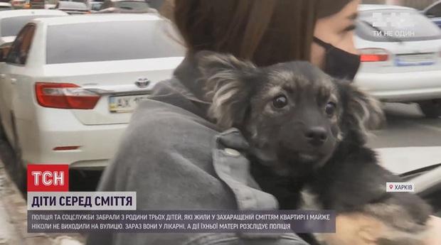 Nghe tin cấp báo của người dân, cảnh sát phát hiện cảnh ám ảnh chưa từng thấy: 2 đứa trẻ sống chung với rác, ăn thịt chó hoang cho qua ngày đoạn tháng - Ảnh 5.