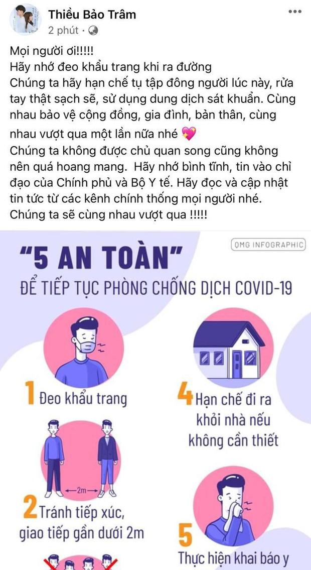 Cuối cùng Thiều Bảo Trâm đã có chia sẻ đầu tiên trên Facebook sau lùm xùm chia sẻ của Sơn Tùng và Hải Tú lộ thư tình? - Ảnh 2.