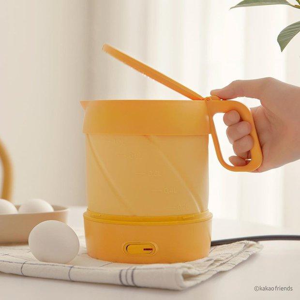Nồi nấu mì và bình đun nước Kakao Friends Hàn xẻng mới ra: Giá hơi chát nhưng nhìn vẫn muốn mua - Ảnh 6.