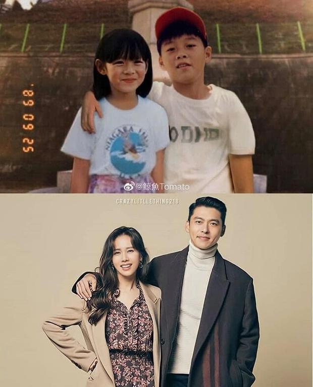 Phát hiện Hyun Bin - Son Ye Jin có tướng phu thê từ thời bé xíu, anh nhà còn được fan khen nhìn giống bố vợ nữa cơ! - Ảnh 5.