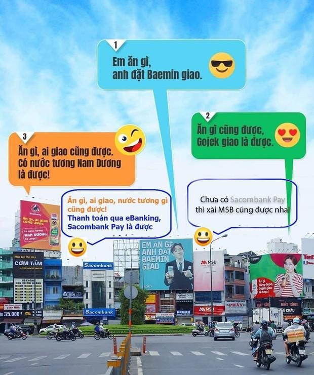 Hari Won - Trấn Thành trở thành tâm điểm đối đáp quảng cáo cực hài hước giữa Baemin và Gojek, nhưng cái tên thứ 3 xuất hiện mới khiến cộng đồng dậy sóng! - Ảnh 5.
