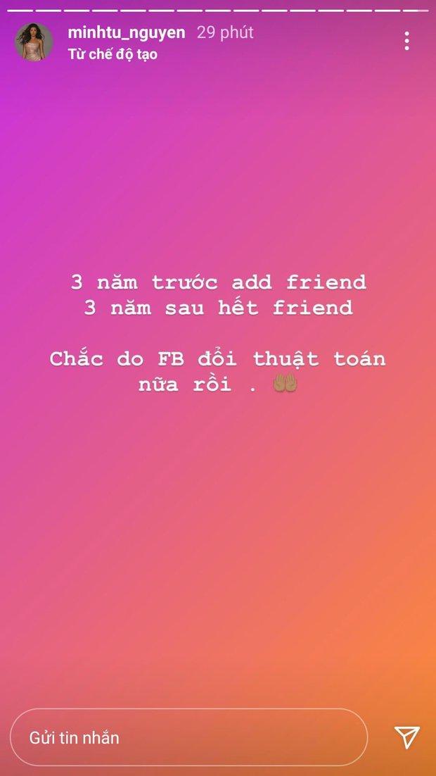 Rộ nghi vấn Minh Tú - Hoàng Thùy không còn làm bạn trên Facebook hậu drama ở show thực tế - Ảnh 1.