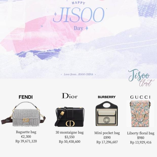 Jisoo được fan Trung Quốc tặng loạt quà sinh nhật toàn hàng hiệu, giá trị hàng trăm triệu đồng - Ảnh 3.