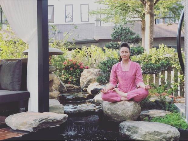 Bên trong căn biệt thự 220m2 của Nhật Kim Anh: Góc nào cũng toát lên sự giàu có, vườn cây ao cá đều đủ cả - Ảnh 10.
