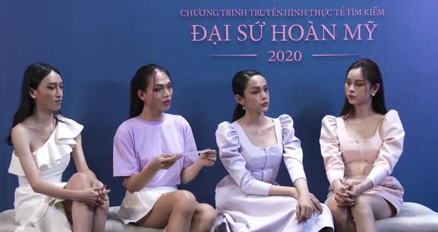 Team Hoàng Thùy gây choáng khi thi ứng xử tiếng Anh: 3/4 không hiểu câu hỏi, phải trả lời bằng tiếng mẹ đẻ - Ảnh 4.