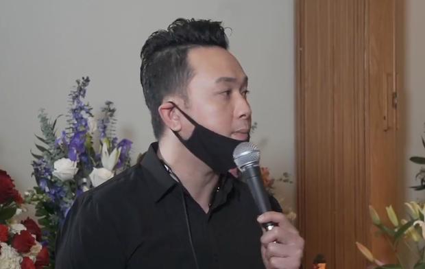 Tang lễ Vân Quang Long tại Mỹ: Phạm Quỳnh Anh và dàn sao Việt gửi lời tiễn biệt, vợ khóc thương khi nhìn thấy linh cữu chồng nơi xa - Ảnh 5.