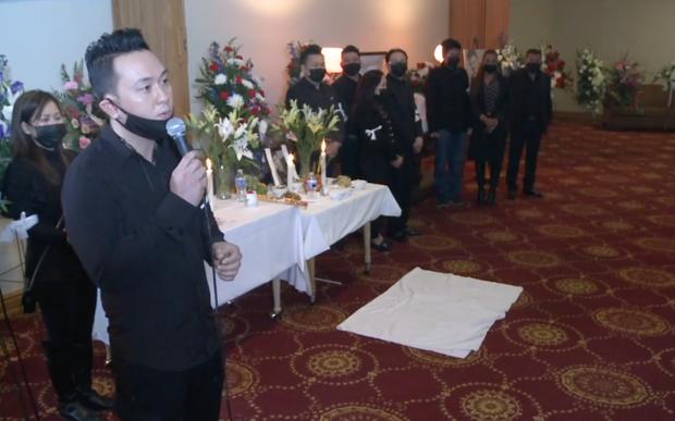 Tang lễ Vân Quang Long tại Mỹ: Phạm Quỳnh Anh và dàn sao Việt gửi lời tiễn biệt, vợ khóc thương khi nhìn thấy linh cữu chồng nơi xa - Ảnh 3.