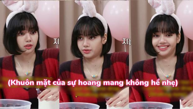 """Chiếc bánh kem """"lươn lẹo"""" để mừng năm mới của Lisa khiến fan cười 3 ngày chưa hết: Nhà có idol mặn thế này cũng mệt! - Ảnh 3."""