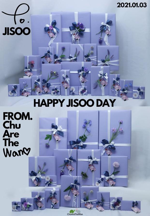 Jisoo được fan Trung Quốc tặng loạt quà sinh nhật toàn hàng hiệu, giá trị hàng trăm triệu đồng - Ảnh 2.