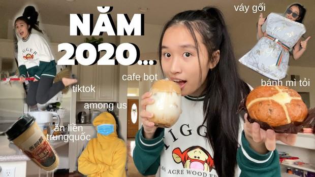 Jenny Huỳnh làm clip gói gọn hot trends 2020, khó đỡ nhất là thử thách biến gối ngủ thành váy - Ảnh 1.