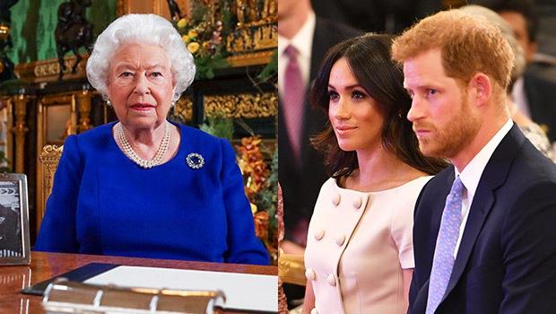 Phản ứng của vợ chồng Meghan Markle sau khi hay tin bị Nữ hoàng từ chối chỉ trong 2 giây - Ảnh 1.