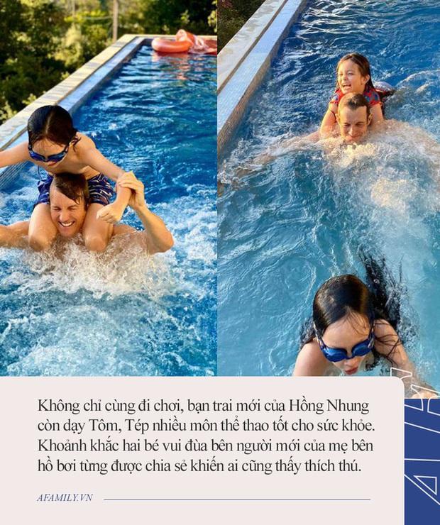 Tiết lộ mối quan hệ với bạn trai mới và chồng cũ, Hồng Nhung nhận cơn mưa lời khen vì cách nuôi dạy con quá tinh tế - Ảnh 3.
