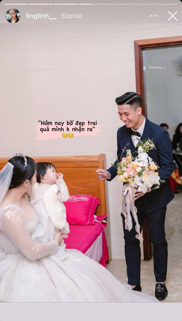 Vợ Bùi Tiến Dũng làm phiên dịch miêu tả loạt ảnh đặc biệt trong ngày cưới ở Hà Tĩnh, Sushi nhập hội nhóc tỳ hề hước Vbiz! - Ảnh 2.