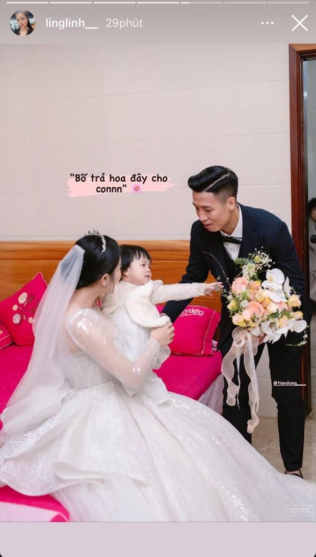 Vợ Bùi Tiến Dũng làm phiên dịch miêu tả loạt ảnh đặc biệt trong ngày cưới ở Hà Tĩnh, Sushi nhập hội nhóc tỳ hề hước Vbiz! - Ảnh 3.