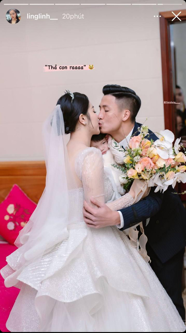 Vợ Bùi Tiến Dũng làm phiên dịch miêu tả loạt ảnh đặc biệt trong ngày cưới ở Hà Tĩnh, Sushi nhập hội nhóc tỳ hề hước Vbiz! - Ảnh 5.
