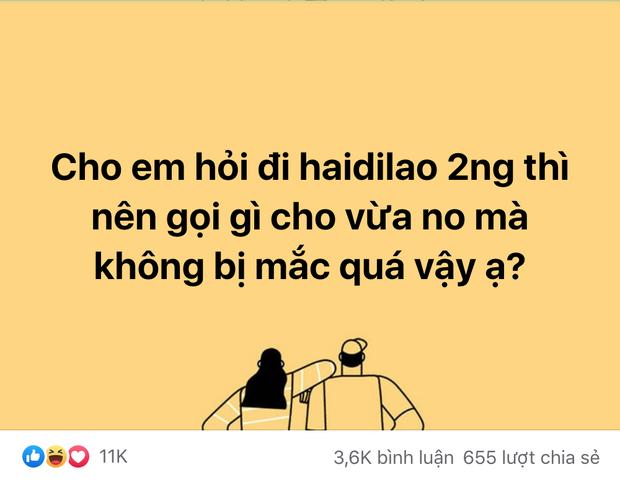 Hỏi đi ăn Haidilao 2 người gọi gì cho rẻ, hàng loạt câu trả lời khiến ai cũng dở khóc dở cười - Ảnh 2.