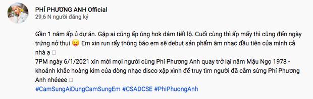 Phí Phương Anh tung teaser hẹn ngày debut thành ca sĩ, netizen lập tức réo gọi Chi Pu - Ảnh 3.