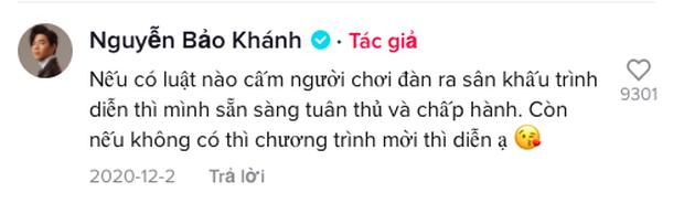 Bị anti fan hỏi vì sao đánh đàn không đứng trong cánh gà tiện cà khịa tin đồn ế show, K-ICM đáp trả cực gắt - Ảnh 6.