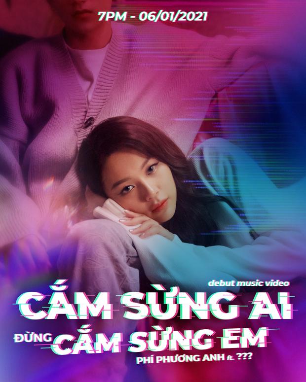 Phí Phương Anh tung teaser hẹn ngày debut thành ca sĩ, netizen lập tức réo gọi Chi Pu - Ảnh 2.