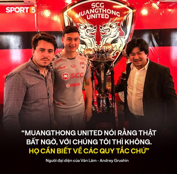 Người đại diện của Văn Lâm nói kháy Muangthong United về vụ kiện lên FIFA: Họ cần tìm hiểu kỹ các quy tắc chứ  - Ảnh 1.
